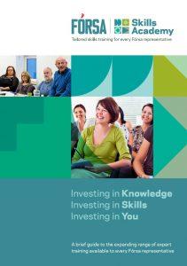 Fórsa Skills Academy brochure